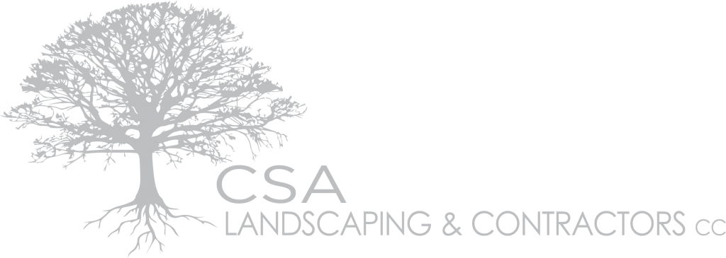 CSA Landscaping Logo Grey